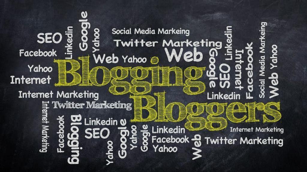 blogging bild
