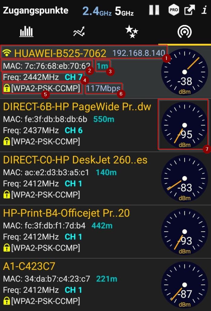 wifi analyzer 5
