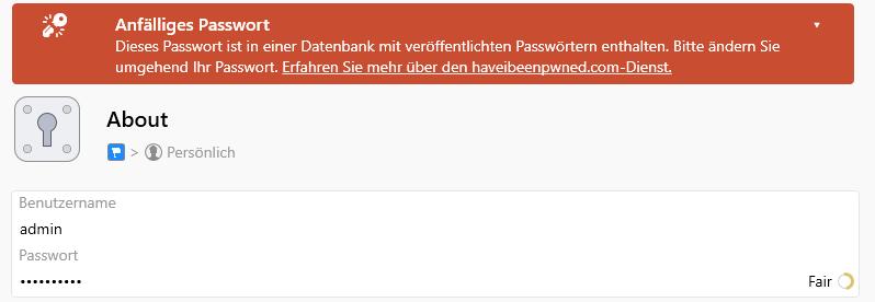 1password datenleak information