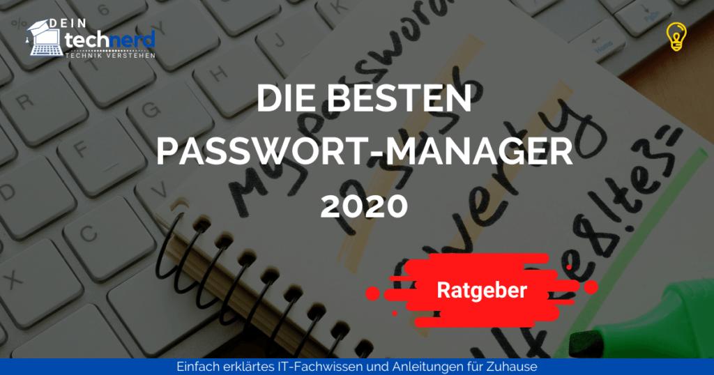 die besten passwort manager beitragsbild