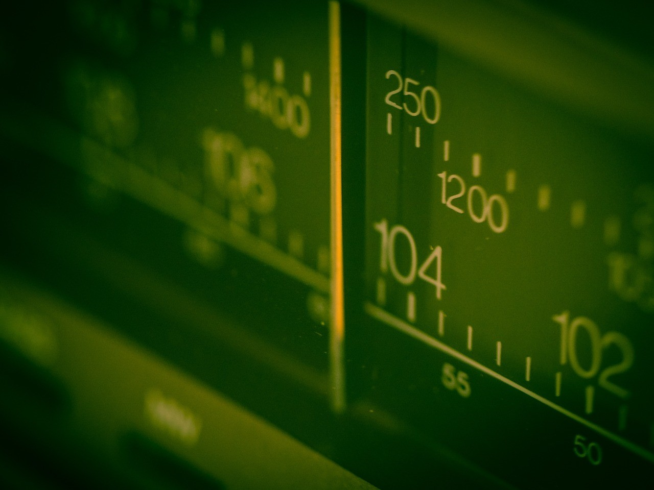 frequency, radio, scale