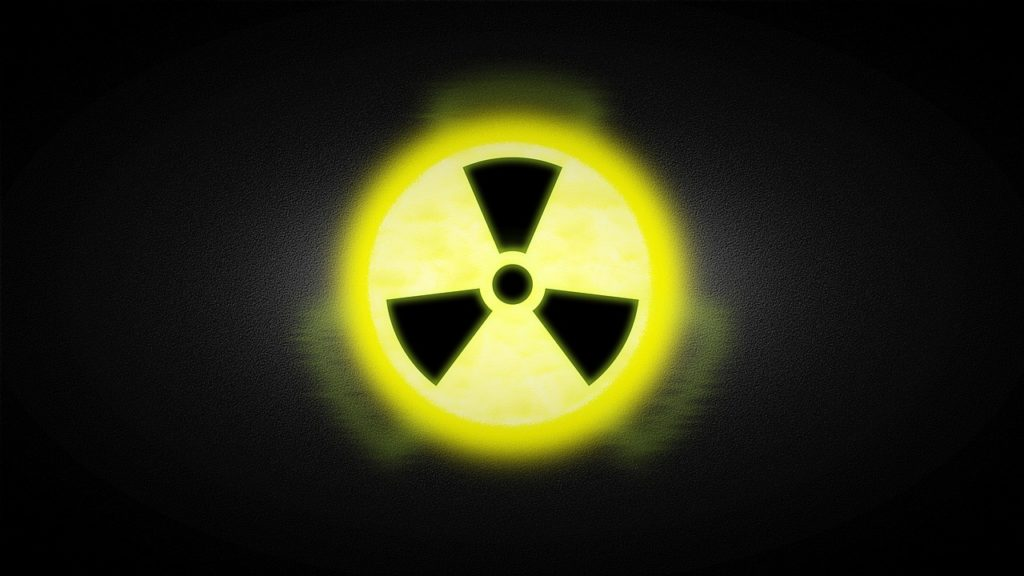 radioactive, graphic, nuclear power plant