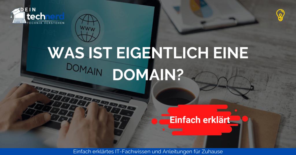 was ist eine domain - beitragsbild