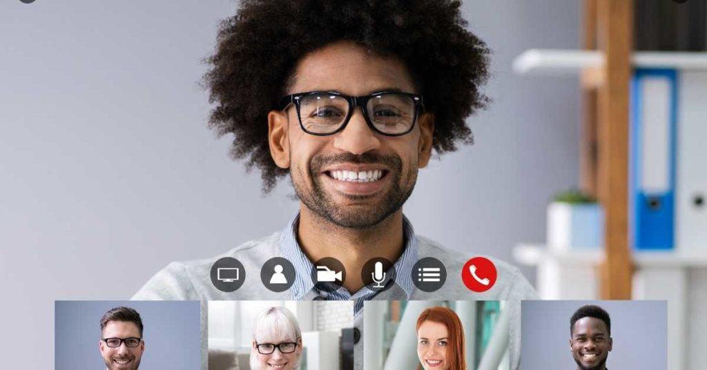 Wie funktionieren Zoom Meetings glücklicher online meeting teilnehmer